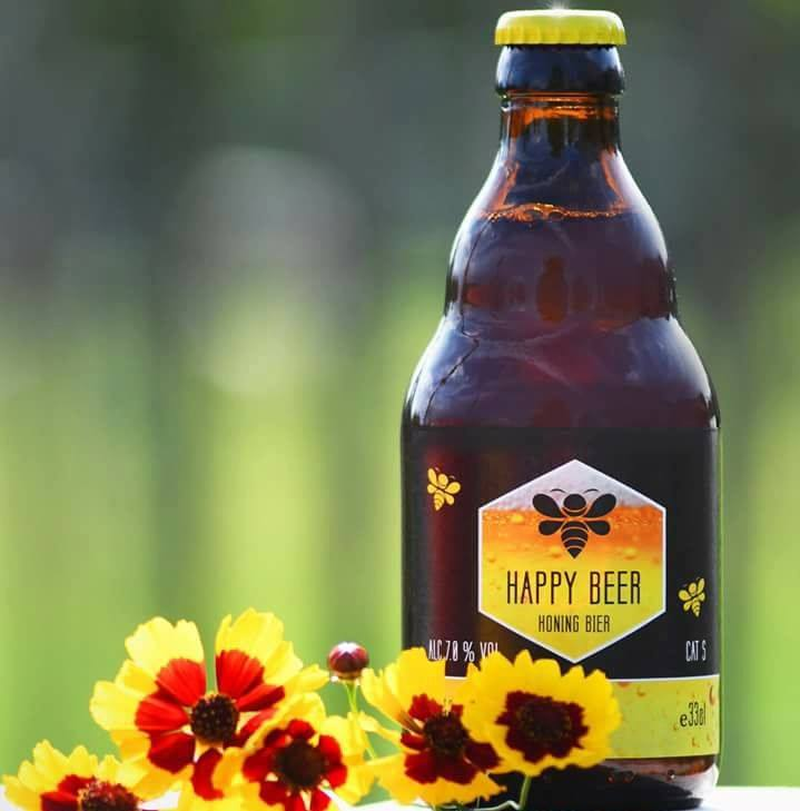 Honingbier van The Happy Bees
